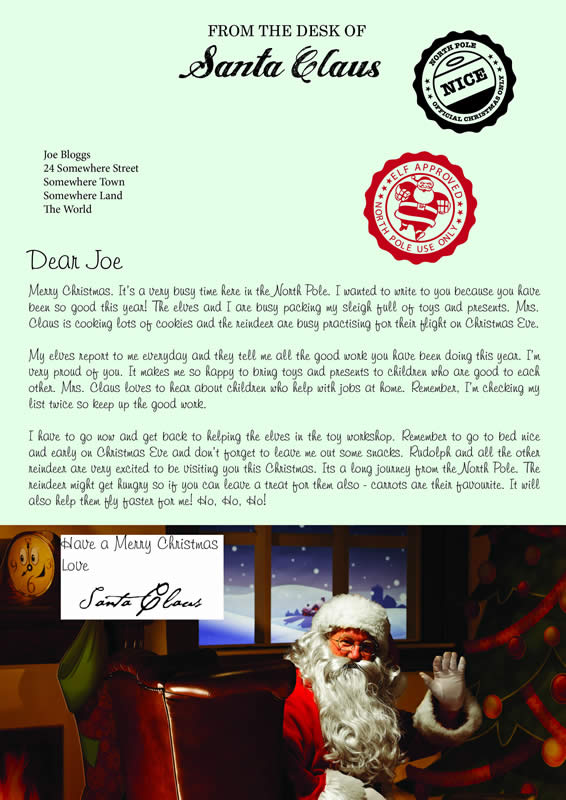Letter design B with Merry Christmas text