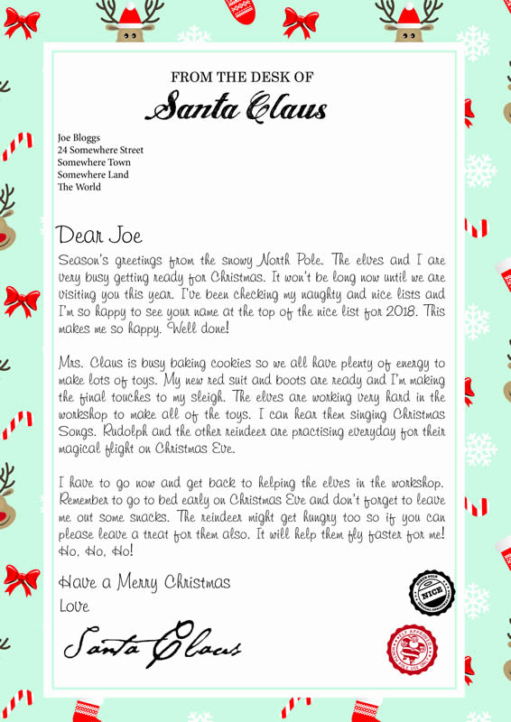 Letter design C with Seasons Greeting text