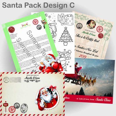Santa Pack Design C