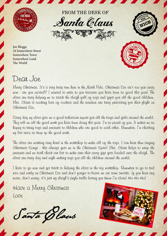 Letter Design A with MerryChristmas text